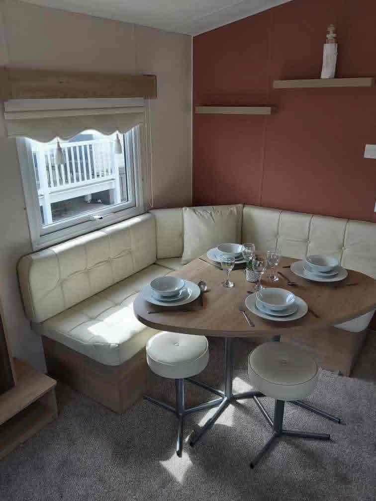 Caravan Dining Area