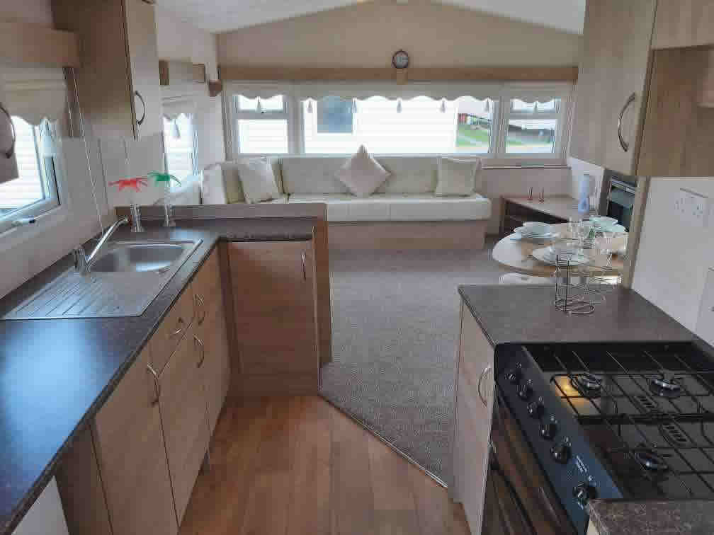 Caravan Living Space