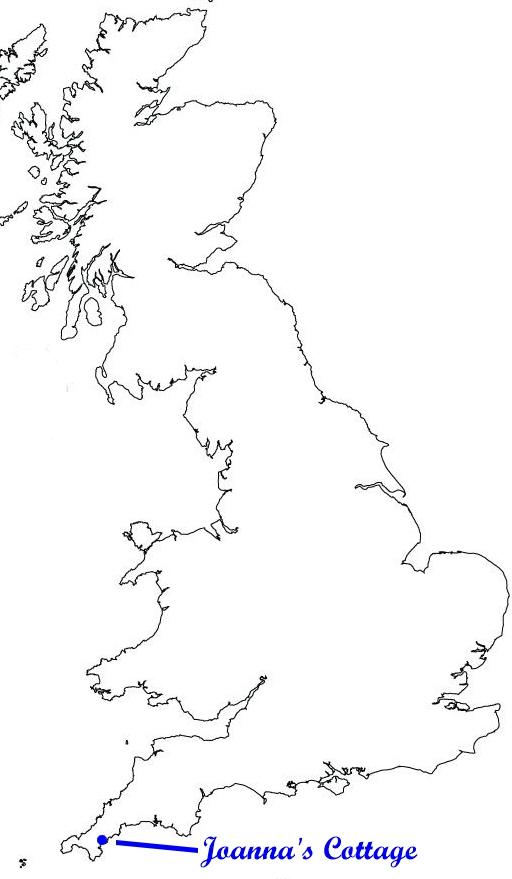 Joanna's Cottage Map
